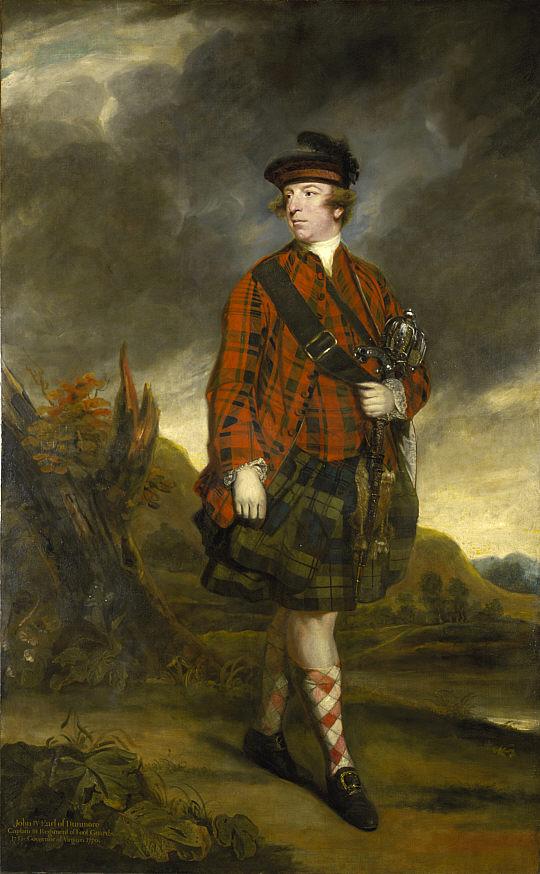 Джон, Мюррей, 4-й эрл Данмора, 1765-й год