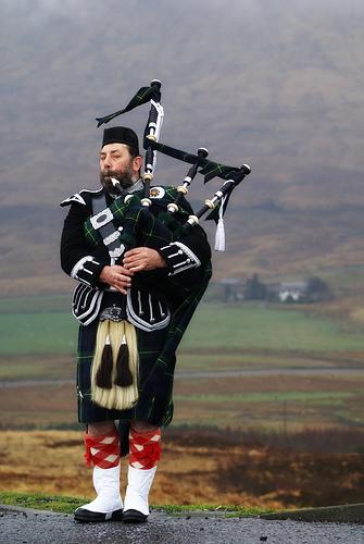 Килт в 19-й век попал благодаря шотландским солдатам и шотландским интеллектуалам
