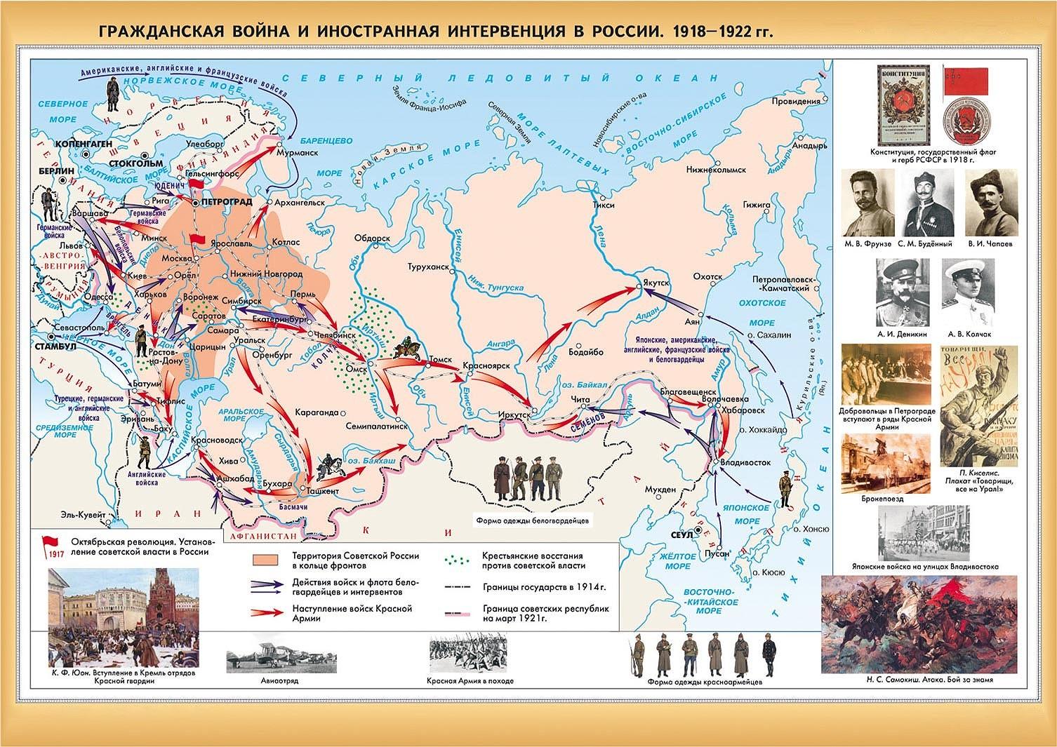 Отечественная война 1918 22 годов